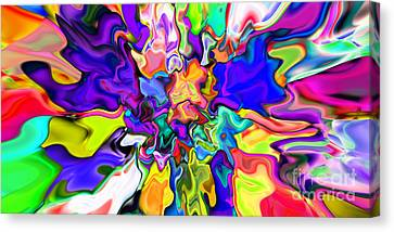Abstract 370 Canvas Print by Rolf Bertram