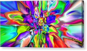 Abstract 376 Canvas Print by Rolf Bertram