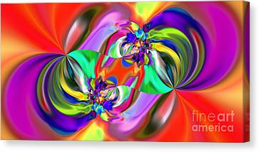 Abstract 380 Canvas Print by Rolf Bertram