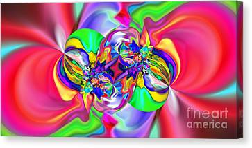 Abstract 383 Canvas Print by Rolf Bertram