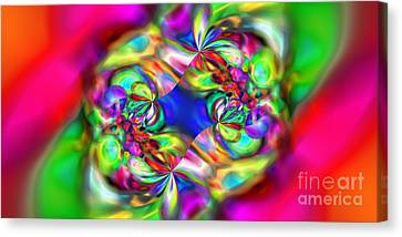 Abstract 392 Canvas Print by Rolf Bertram