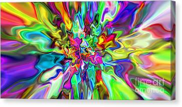 Abstract 394 Canvas Print by Rolf Bertram