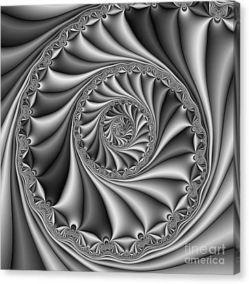 Abstract 508 Bw Canvas Print by Rolf Bertram