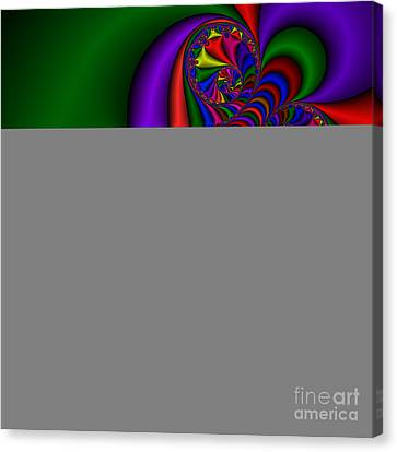 Abstract 510 Canvas Print by Rolf Bertram