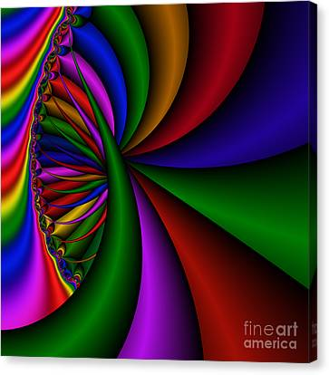 Abstract 531 Canvas Print by Rolf Bertram