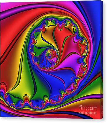 Abstract 534 Canvas Print by Rolf Bertram