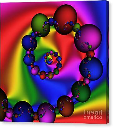 Abstract 537 Canvas Print by Rolf Bertram