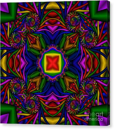 Abstract 611 Canvas Print by Rolf Bertram