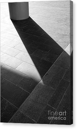 Abstract Architectural Shadows Canvas Print by Emilio Lovisa
