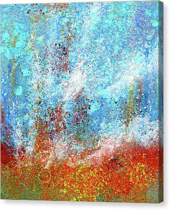 Abstract Artwork The Mermaids Ocean Canvas Print