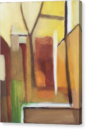 Abstract Backyard 2008 Canvas Print