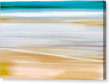 Abstract Beachscape Canvas Print by Frank Tschakert