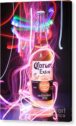 Abstract Beer Canvas Print
