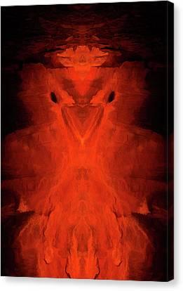 Abstract Bird 01 Canvas Print by Scott McAllister