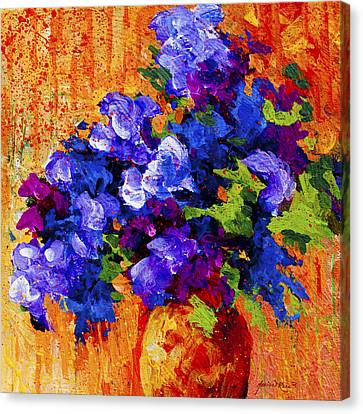 Abstract Boquet 3 Canvas Print by Marion Rose