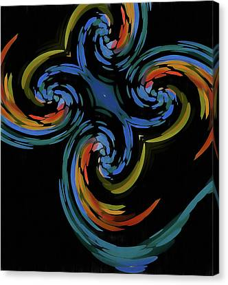 Abstract Butterfly Effect Canvas Print by Dan Sproul
