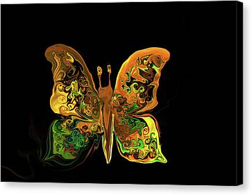 Abstract Butterfly Canvas Print