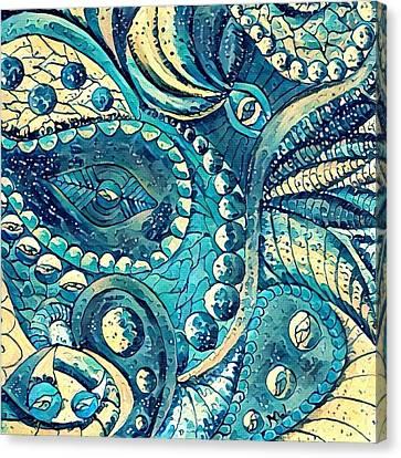 Abstract C Canvas Print by Megan Walsh