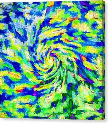 Abstract Art On Canvas Print - Abstract - Category 5 by Jon Woodhams