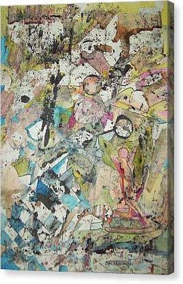 Abstract Chess Canvas Print by James Christiansen