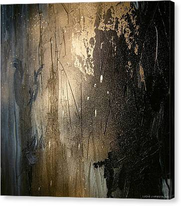 Abstract Color Study Canvas Print by Lucas Armstrong