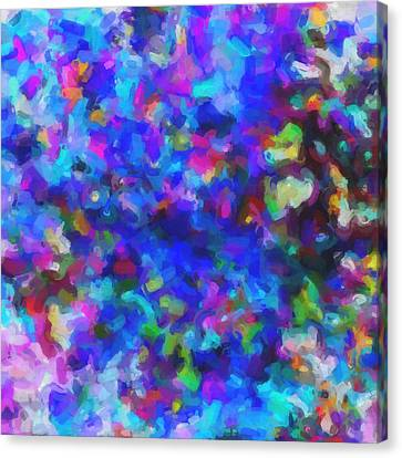 Color Canvas Print - Abstract Colors No 2 by Celestial Images