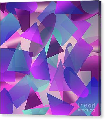 Abstract Cube II Canvas Print by Amir Faysal