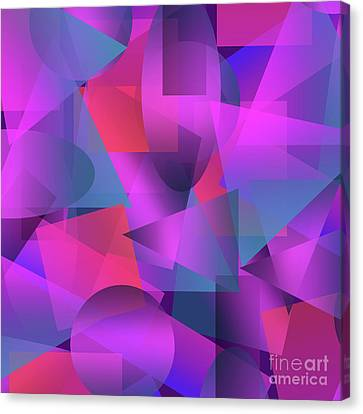 Abstract Cubes Canvas Print by Amir Faysal