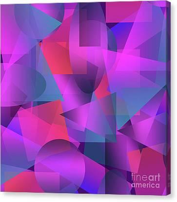 Ipad Design Canvas Print - Abstract Cubes by Amir Faysal