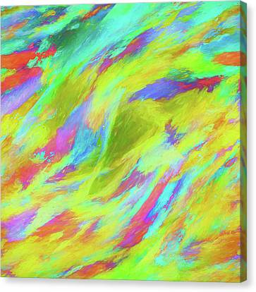 Abstract Art On Canvas Print - Abstract - Currents by Jon Woodhams