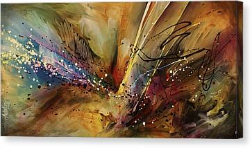 Abstract Design 108 Canvas Print by Michael Lang