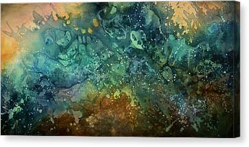 Abstract Design 27 Canvas Print by Michael Lang