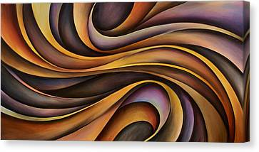 Abstract Design 31 Canvas Print by Michael Lang