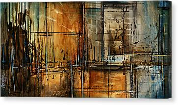 Abstract Design 76 Canvas Print by Michael Lang