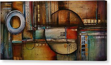 Abstract Design 77 Canvas Print by Michael Lang