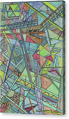 Abstract Canvas Print by Eric Pearson