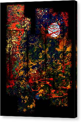 Abstract Evening Canvas Print by Patricia Motley
