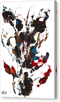 Abstract Expressionism Painting 24.072811 Canvas Print