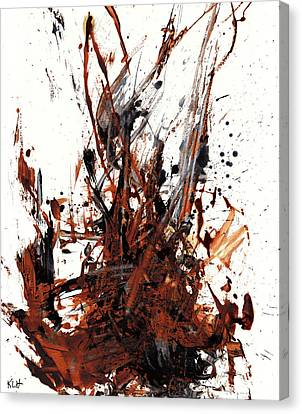 Abstract Expressionism Painting 50.072110 Canvas Print by Kris Haas