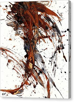 Abstract Expressionism Series 51.072110 Canvas Print by Kris Haas