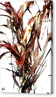 Abstract Expressionism Series 57.121210 Canvas Print by Kris Haas