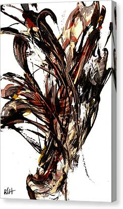 Abstract Expressionism Series 58.121210 Canvas Print by Kris Haas