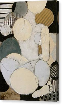 Abstract Female Back  Canvas Print