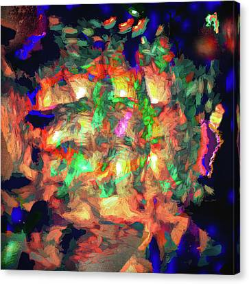 Abstract - Fire In The Belly Canvas Print