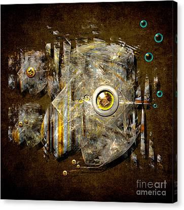 Abstract Fish Canvas Print