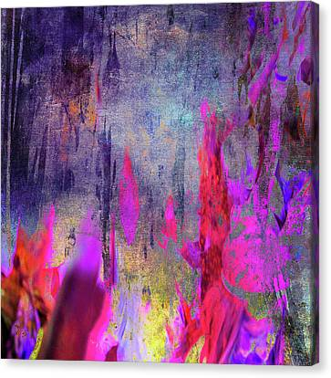 Sun Rays Canvas Print - Abstract  Flames by Filippo B