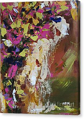 Abstract Floral Study Canvas Print