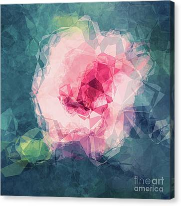 Abstract Flower II Canvas Print