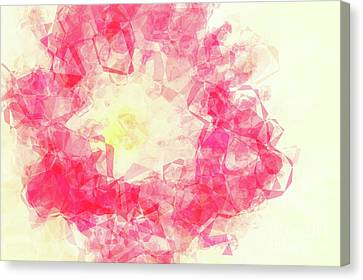Abstract Flower Iv Canvas Print