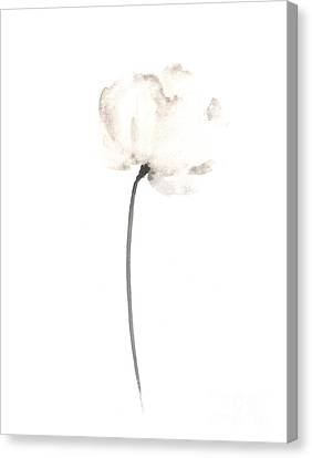 Abstract Flower Poster Canvas Print by Joanna Szmerdt